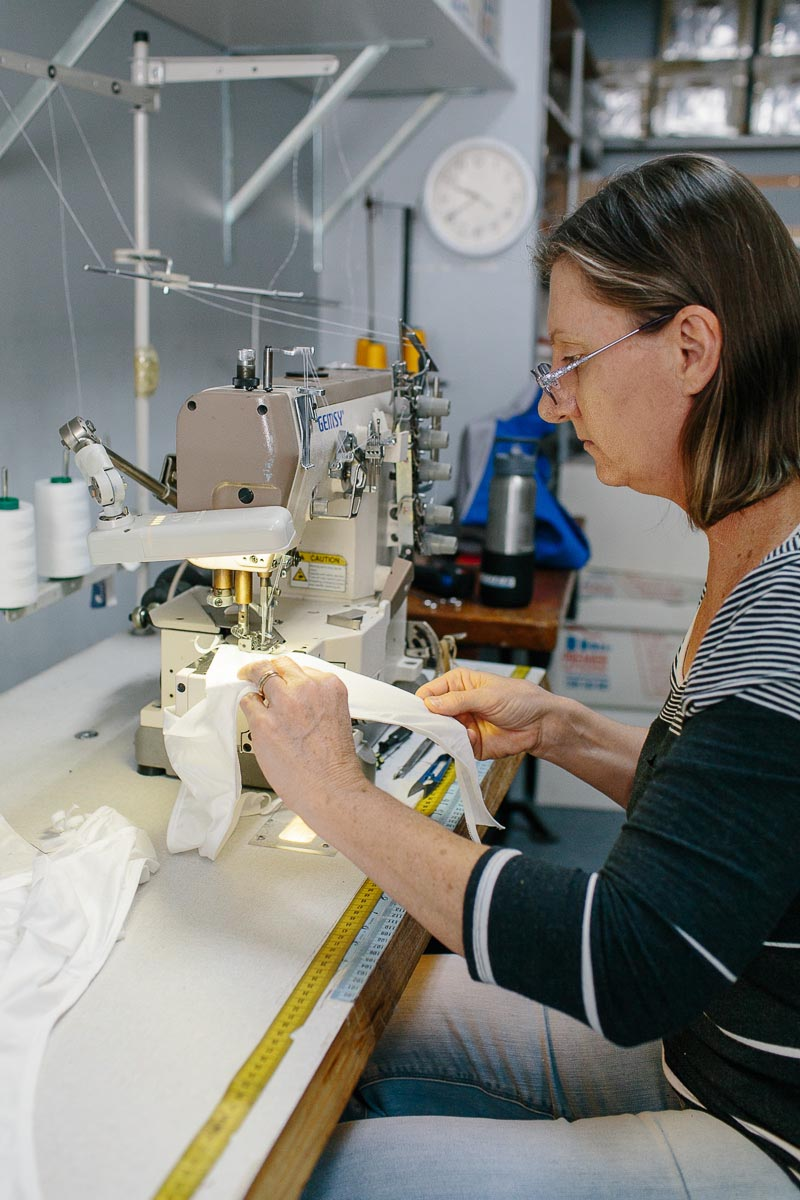 Manufacturing underwear locally in Brisbane