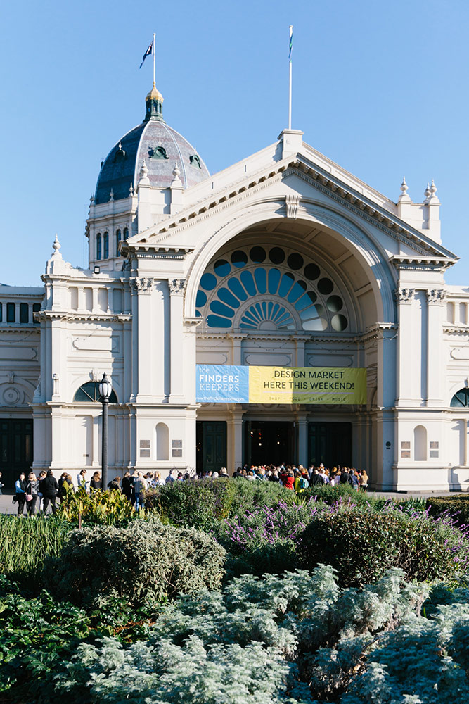 Royal Exhibition Building in Carlton Melbourne