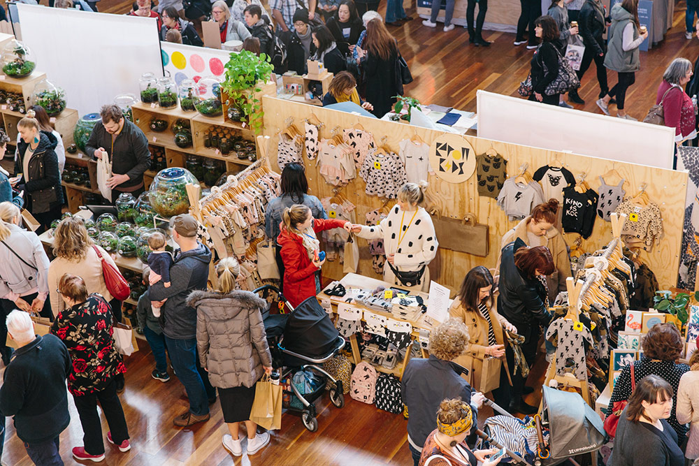Shoppers at Finders Keepers