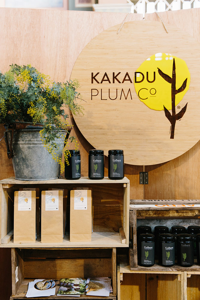 Kakadu Plum Co market display