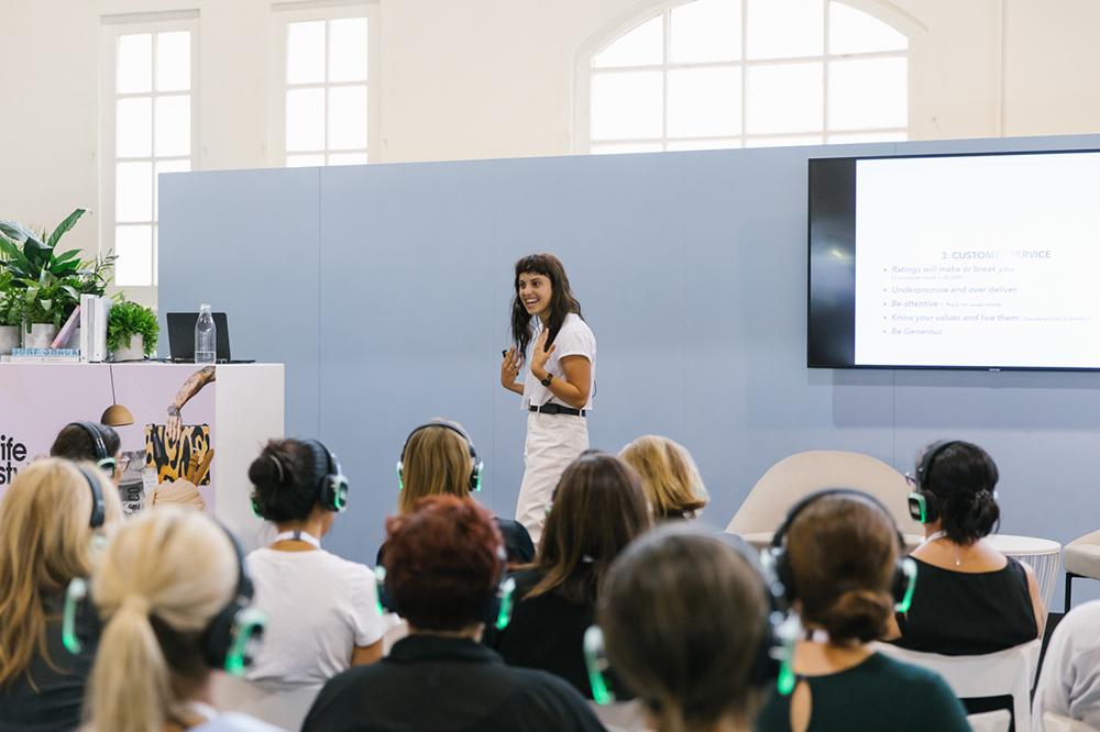 Kaylene Langford of Startup Creative gives a workshop