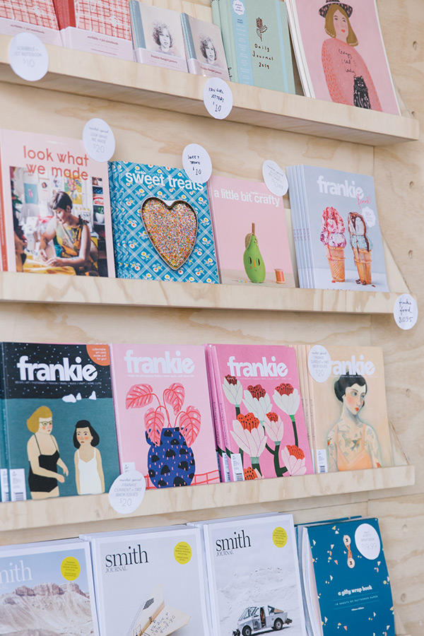 Frankie Magazine market stall at The Finders Keepers Brisbane