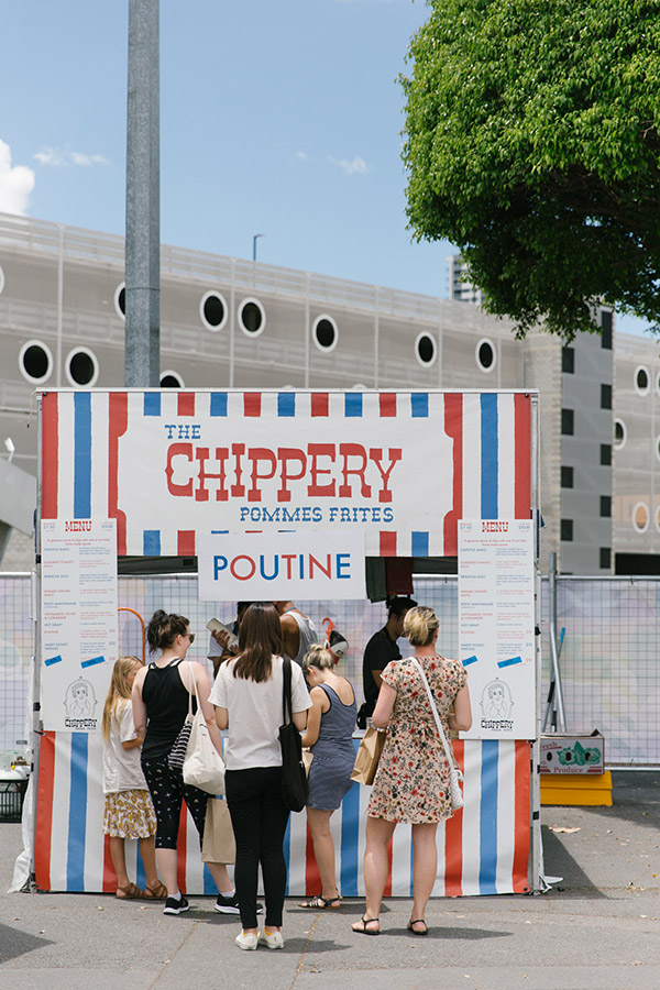 The Chippery selling pommes frites
