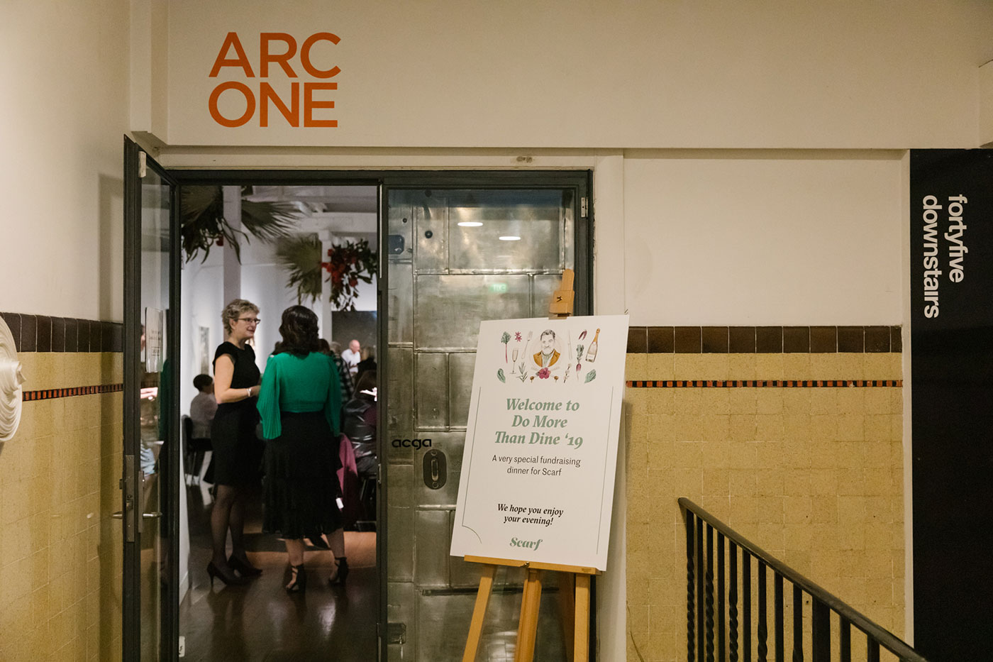 Arc One Gallery entrance
