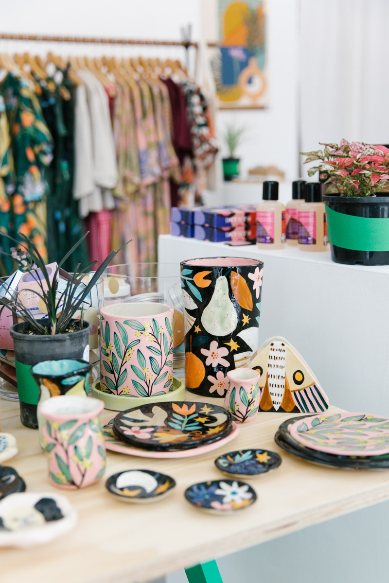 Handmade and hand painted ceramics by Togetherness Design
